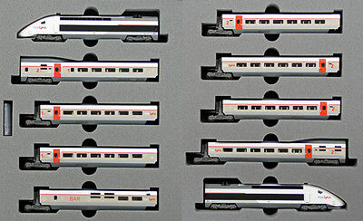 Kato 10-1325 TGV Lyria 10 Cars Set (N scale)