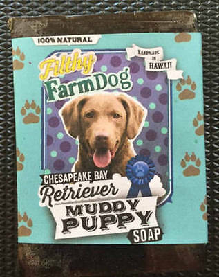 Chesapeake Bay Retriever  Bar of Dog Soap Fun Graphics  Unique Gift  All Natural