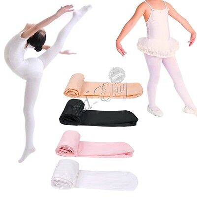 Ballet Tights Gymnastics Tights Transition Footed Kids Girl Stocking Pantyhose