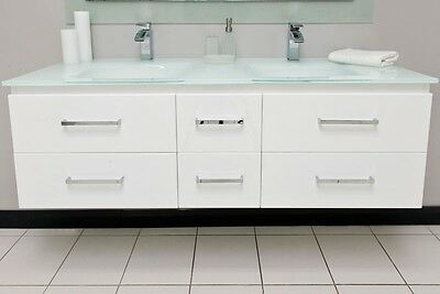 VANITY BATHROOM 1500mm Wall Mount UNIT WITH FREE FAUCET New