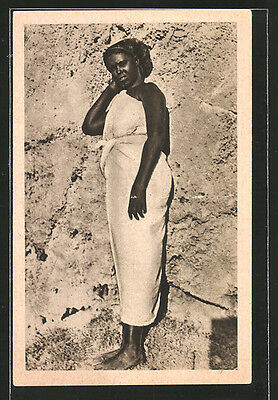 remarquable CPA Africa Orientale, Tipo di donna, afrikanische Volkstypen