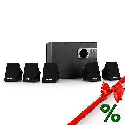 Sistema Altavoces Home Cinema 5.1 40W Rms Bass Boost Subwoofer Surround 2.1