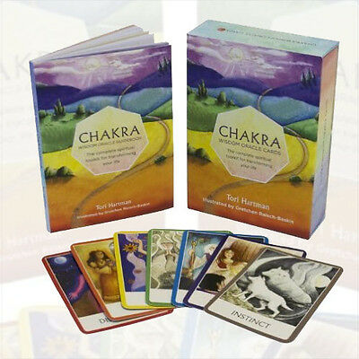 Chakra Wisdom Oracle Cards: The Complete Spiritual Toolkit By Tori Hartman NEW