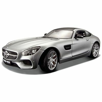 Maisto Diecast Model - Silver Mercedes AMG GT Car - 1:24 Scale - 31134 - New
