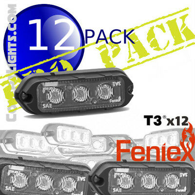 10 Pack Feniex T3 Led Surface Mount Light