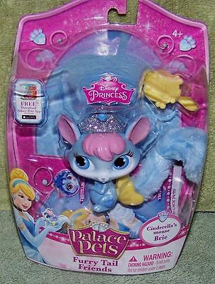Palace Pets Furry Tail Friends Cinderella's Mouse Brie New