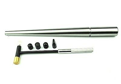 Proops Solid Steel Round Ring Mandrel & Jewellers Hammer 6 Heads J1288