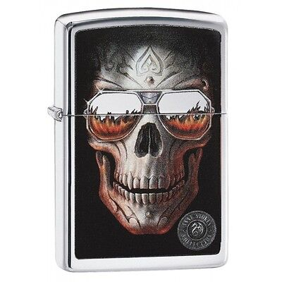 Zippo Anne Stokes Coll 6 High Polish Chrome Regular Lighter  Brand New