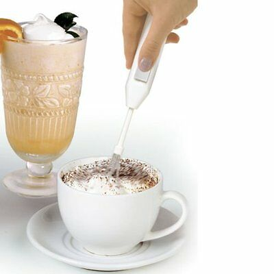 Norpro Deluxe Cordless Mini Kitchen Drink Mixer Frother Cappuccino Latte
