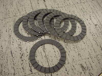 Triumph Clutch Plates Friction New Set Bonneville T120 140 Tr6 Unit 500 650 750