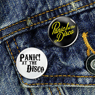 Panic at the Disco Button Badge Set 2 x 25mm Badges