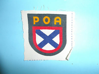 b8800 WW2 German Army Russian Volunteer Sheild POA ROA Russo Liberation GIA51