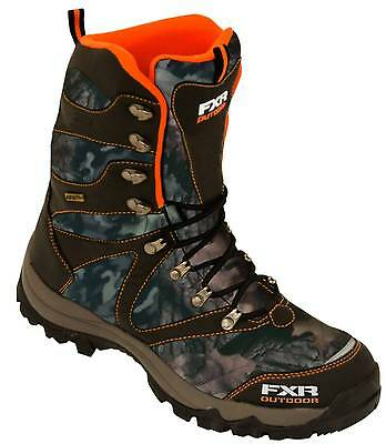 New FXR-Snow Renegade-Tall Adult Waterproof Boots, Camo, US-11