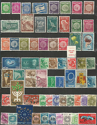 Israel from 1948 , a nice small collection,  used stamps