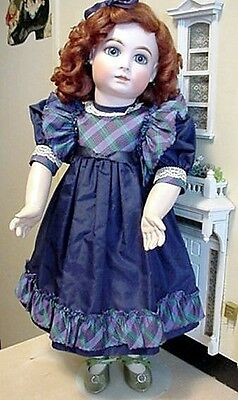 """20"""" Reproduction Closed Mouth French Doll Halopeau"""