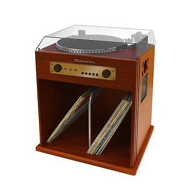 Studebaker Stud-Sb6059 Stereo Turntable With Bluetooth Receiver