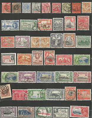 British Colonies nice collections  old mint/used stamps