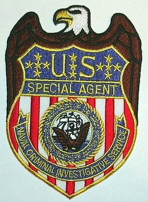Navy Ncis Special Agent Police Patch