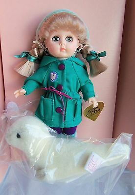 Vogue HTF Ginny SEAL WATCH with little plush Seal, MIB 1991