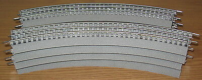 Lionel 6-12015 O36 Curved Fastrack Fast Track 8 Circle O Gauge Train Layout Lot