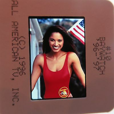 BAYWATCH STARRING David Hasselhoff PAMELA ANDERSON  ORIGINAL SLIDE 17
