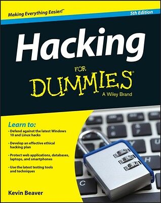 Hacking For Dummies (For Dummies (Computers)) (Paperback), Beaver. 9781119154686