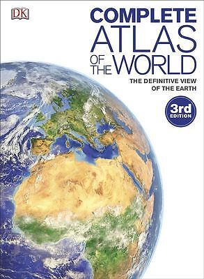 Complete Atlas of the World by Dorling Kindersley - Hardcover - NEW - Book