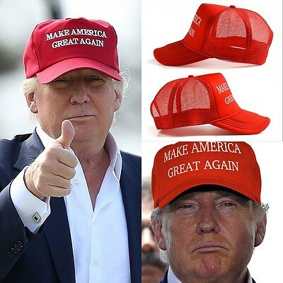 Fashion 2016 Make America Great Again - Donald Trump Hat Cap Red - Republican