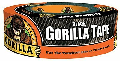 Black Gorilla Tape 1.88 In. x 35 Yd., One Roll New