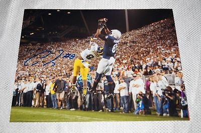 "Allen Robinson Signed 8x10 Photo ""The Catch"" Penn State Autographed Auto Color"