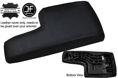 Black Stitching Armrest Lid Leather Cover Fits Mercedes B Class W245 2005-2011