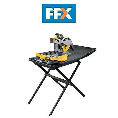 DeWalt D24000 110v Wet Tile Saw with Slide Table