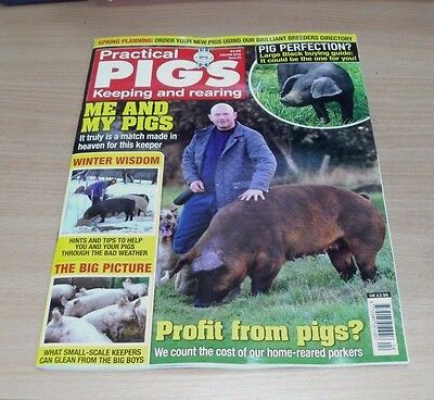 Practical Pigs magazine WINTER 2016 Large Black Buying Guide, Spring Planning &