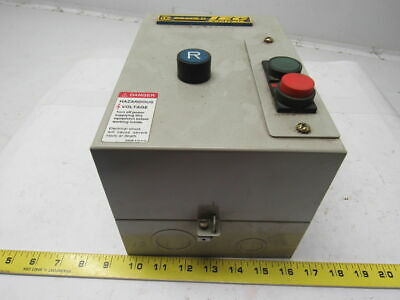 Square D LEDSUD2536G6 IEC Controls Enclosed Motor Starter 120V 60HZ