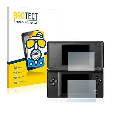 2x BROTECT Matte Screen Protector for Nintendo DS LITE Protection Film