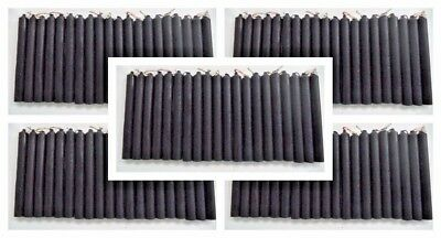 """Wholesale Lot 100 Mini 4"""" Chime Spell Candles: Black (Wicca Altar Ritual) 5 x 20"""