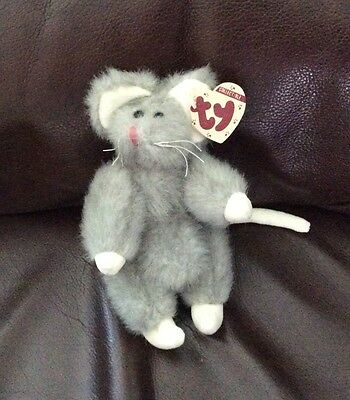 TY ATTIC TREASURE - SQUEAKY THE MOUSE- Early Retired