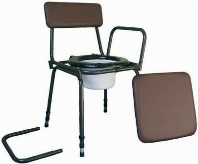 Aidapt Surrey Height Adjustable Commode Chair VR162