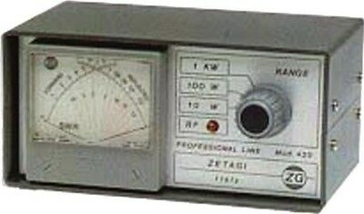 Zetagi 430 Cross Pointer SWR/Power Meter 120-500Mhz
