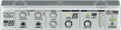 Behringer Silver Minimix 800 Boxed ZB306