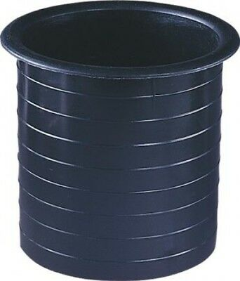 Black Moulded Plastic Port Tube (100mm) L092C