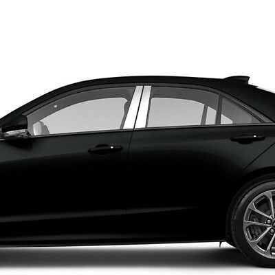Pillar Post Covers for 2013-2016 Cadillac ATS (Stainless Steel 4pc)