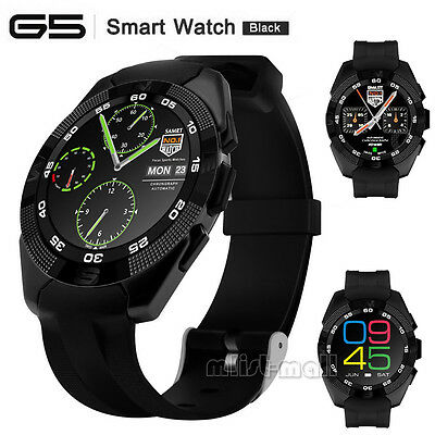 G5 Smart Wrist Watch Heart Rate Monitor Pedometer for Android iOS iPhone Samsung