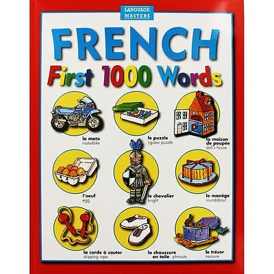 Language Masters French - First 1000 Words French Dictionary