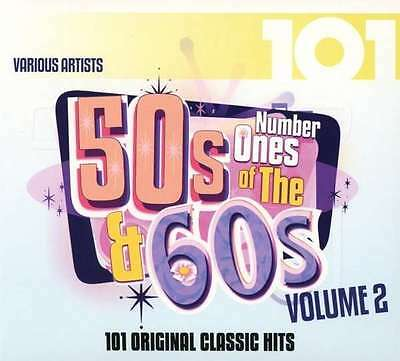 Various Artists - 101 - Number Ones Of The 50's & 60's Vol. 2 NEW 4 x CD