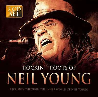 Neil Young - Rockin' Roots Of.. NEW 2 x CD