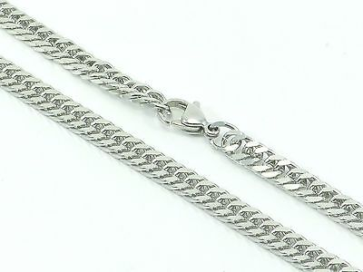 "Mens Womens Curb Link Chain Necklace Stainless Steel 316L 30"" 5mm 27g Unisex"
