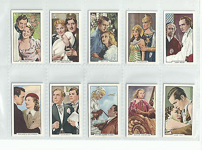 VG / EXC GALLAHER 1935 SET 48......SHOTS FROM FAMOUS FILMS......cigarette cards