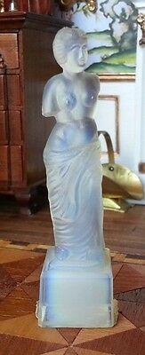 Sabino French Art Deco Glass Dollhouse Miniature Figurine Venus De Milo