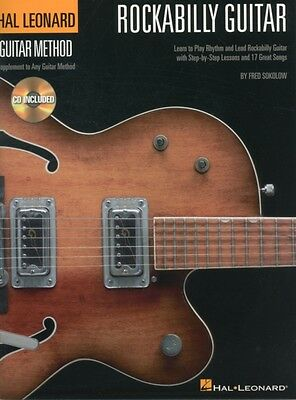 Sokolow Fred Hal Leonard Guitar Method Rockabilly Guitar Tab Book/CD (Hal Leona.